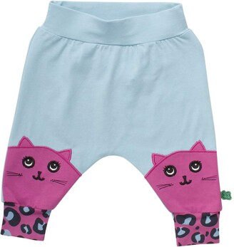 Green Cotton Fred's World by Baby Girls' Animal Pants Trouser