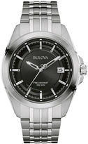 Bulova UHF Precisionist Mens Stainless Steel Watch 96B252