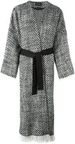 Isabel Marant 'Iban' tweed coat - women - Cotton/Polyamide/Viscose/Wool - 40