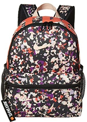Nike Kids Brasilia JDI Backpack (Little Kids/Big Kids) (Dark Smoke Grey/Washed Coral/Washed Coral) Backpack Bags