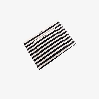 Tekla Black And White Organic Cotton Towel Set