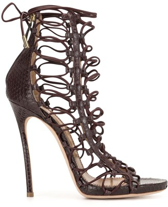 DSQUARED2 Strappy Lace-Up Sandals