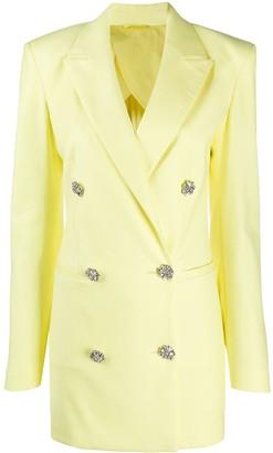 ATTICO Double-Breasted Blazer Dress