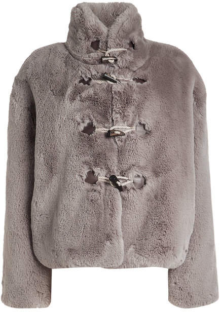 Golden Goose Shedir Faux Fur Jacket