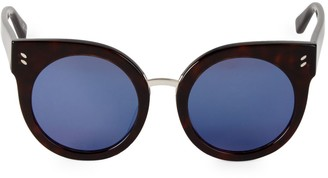 Stella McCartney 52MM Cat Eye Round Sunglasses