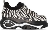 Buffalo David Bitton zebra print flatform sneakers