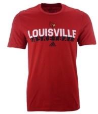 adidas Louisville Cardinals Men's On Court Amplifier T-Shirt