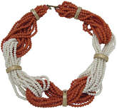 One Kings Lane Vintage Faux-Coral Multi-Strand Necklace