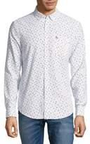 Original Penguin Pineapple Print Button-Down Shirt