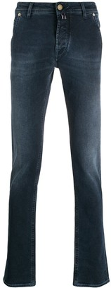 Jacob Cohen High Waist Slim-Fit Jeans