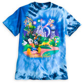 Disney Mickey Mouse and Friends Storybook Tie Dye Tee for Adults - Walt World