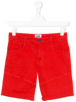 Karl Lagerfeld denim-style shorts - kids - Cotton/Spandex/Elastane - 16 yrs