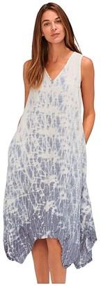 XCVI Reagan Dress in Light Linen (Fathom Wash Seashore) Women's Dress