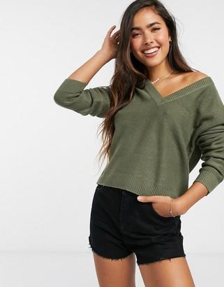 Brave Soul Kansas V-neck Sweater