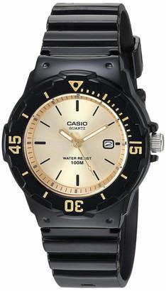 Casio Women's Classic Stainless Steel Quartz Watch with Resin Strap Blue 10.6 (Model: LRW-200H-9EVCF)