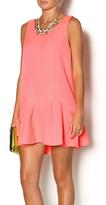 Lush Neon Textured Dress