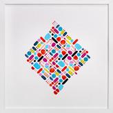 Minted Geometric pill box Art Print