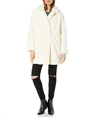 Pete & Greta by Johnny Was Women's Long Faux Fur Coat