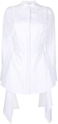 Alexander McQueen Draped Shirt