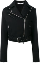 Givenchy classic biker jacket - women - Viscose - 36
