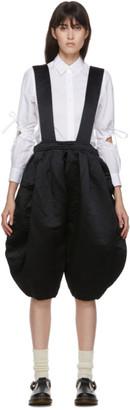 COMME DES GARÇONS GIRL Black Balloon Suspender Trousers