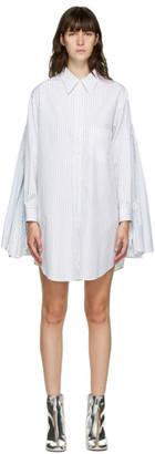 MM6 MAISON MARGIELA White Oversized Shirt Dress