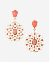 Express Filigree Drop Earrings