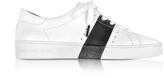 Michael Kors Brandy Optic White w/Black Band Women's Sneakers
