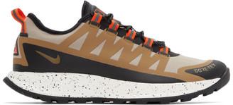 Nike Khaki Gore-Tex ACG Air Nasu Sneakers