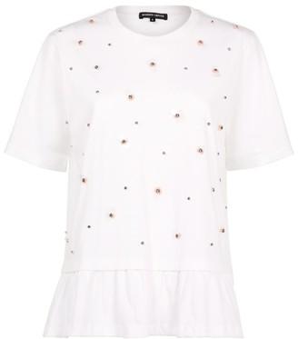 Markus Lupfer Embellished Layla T-Shirt