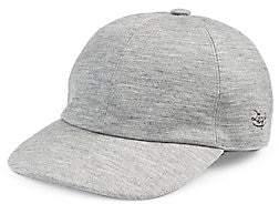 Ermenegildo Zegna Men's Solid Baseball Cap