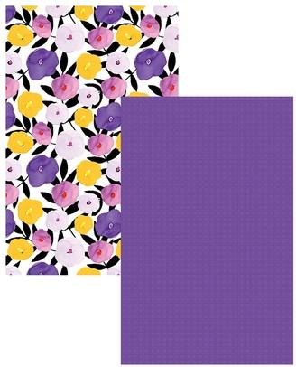 Ambrosia Poppy 2 Piece Cotton Tea Towel Set 50 x 70cm