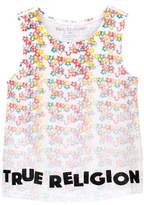 True Religion Sponge Flower Tank Top (Toddler & Little Girls)