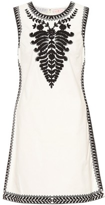 Tory Burch Embroidered cotton dress