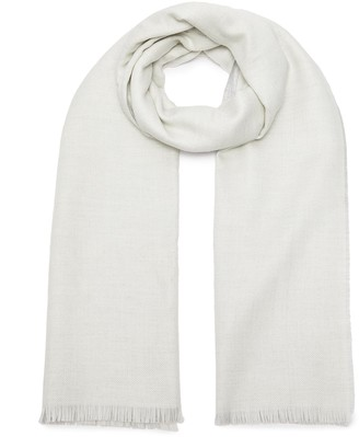 Johnstons of Elgin Lightweight Reversible Cashmere Scarf