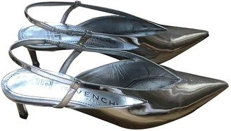 Givenchy Silver Patent leather Sandals