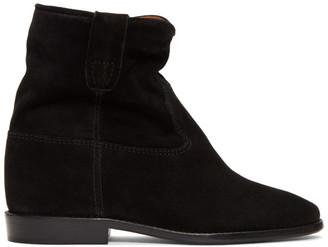 Isabel Marant Black Suede Crisi Boots