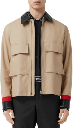 Burberry Men's Waddingham Chore Coat
