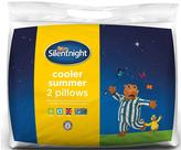 Silentnight Cooler Summer Pillows (2 Pack)