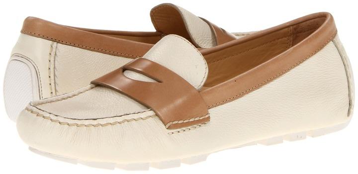 Cole Haan Air Sadie Driver (Ivory/Sandstone) - Footwear