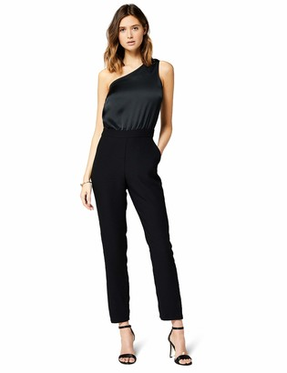 Amazon Brand - TRUTH & FABLE Women's Evening Sleeveless Jumpsuit