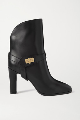 Givenchy Eden Leather Ankle Boots - Black