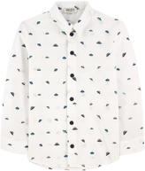 Kenzo Graphic poplin shirt