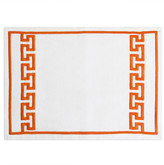 Jonathan Adler Mykonos Placemat - Orange