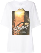 Facetasm graphic printed T-shirt - women - Cotton - One Size