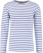 Armor Lux Mariniere Long Sleeved Top Blanc/etoile