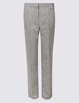 Classic Printed Straight Leg Trousers