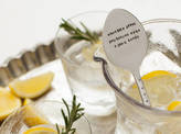 The Cutlery Commission 'Gin And Tonic' Silver Plated Drink Stirrer