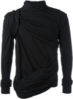 Rick Owens draped top - men - Cotton - S