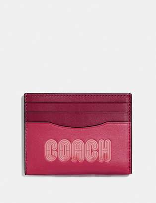 Coach Card Case With Print